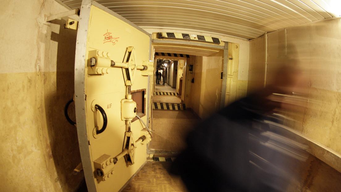 Recrean explosión nuclear para probar la puerta de un cuartel ruso