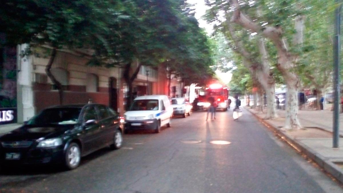 Un escape de gas en pleno centro alertó a los vecinos