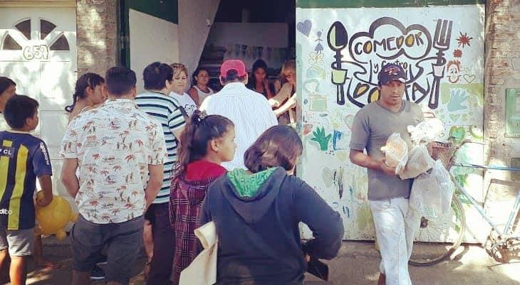 """""""Dorita"""": el Centro Cultural que cocina todas las semanas para 400 personas"""
