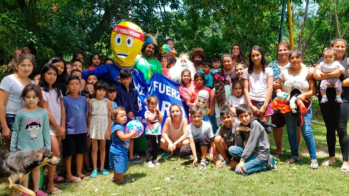 La magia de la solidaridad les sacó una sonrisa a niños en el día de Reyes