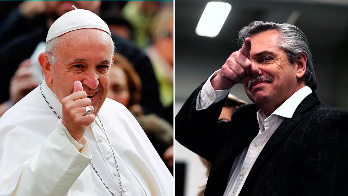 El papa Francisco recibirá a Alberto Fernández el próximo 31 de enero
