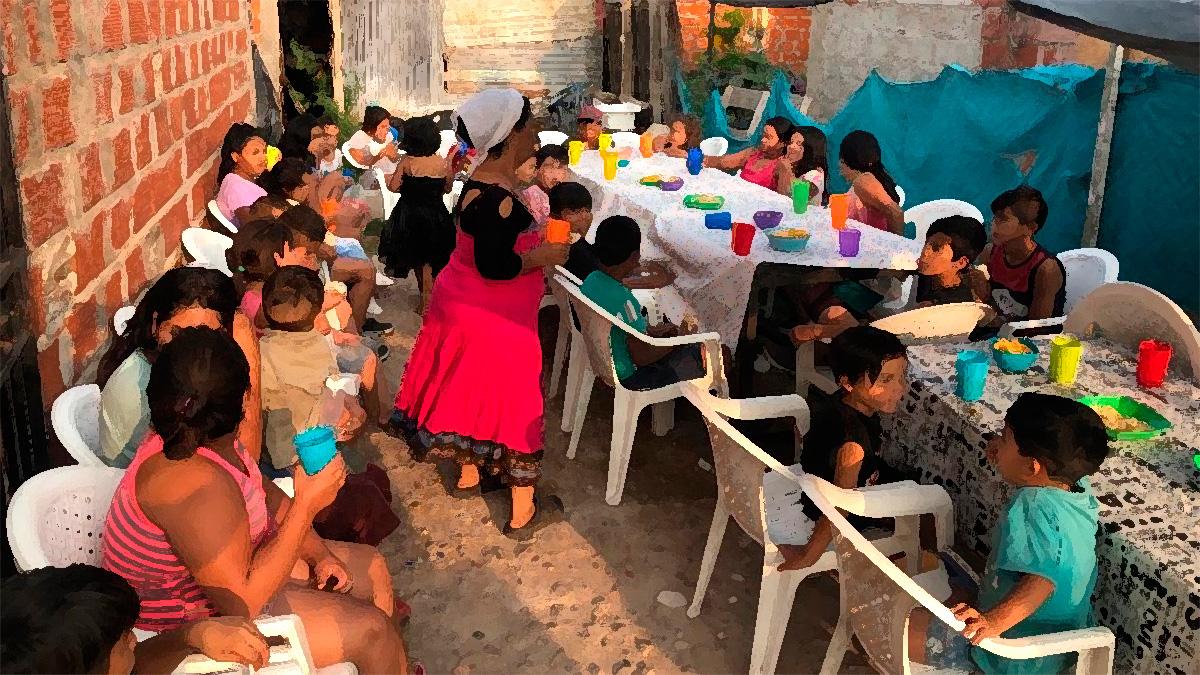 La Antenita: un espacio para la infancia que realiza una colecta de útiles