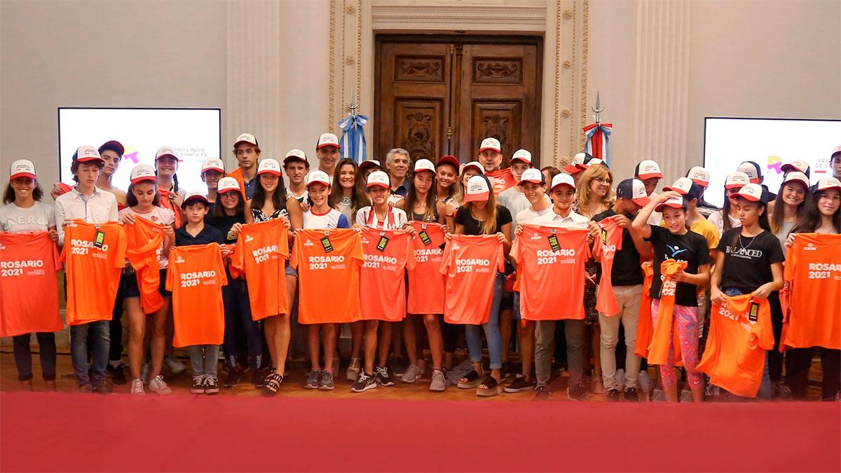 Reconocieron a deportistas santafesinos convocados al Campus del Cenard