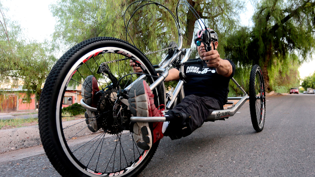 Deportistas con discapacidad motriz cruzarán la cordillera en handbike