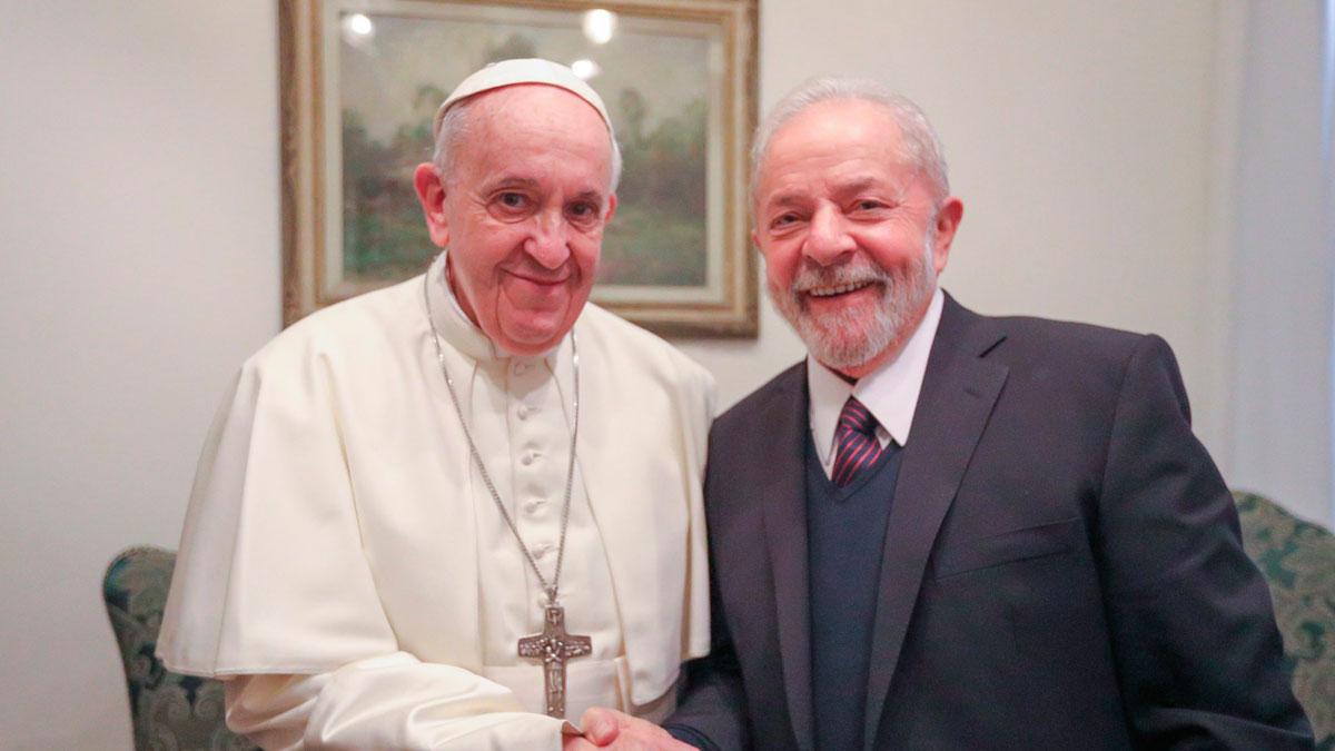 Francisco y Lula se reunieron en el Vaticano