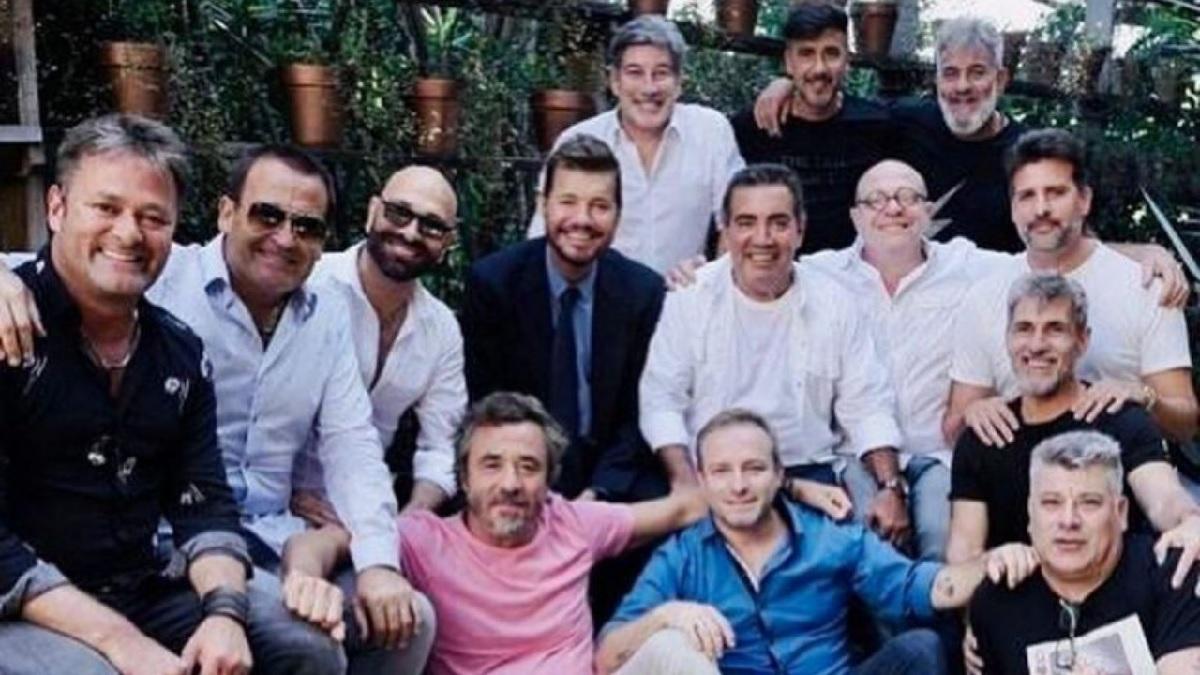 Marcelo Tinelli se reunió con los humoristas de VideoMatch y sorprendió a todos